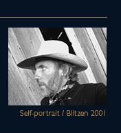 Roger Dorband self-portrait, Blitzen 2001